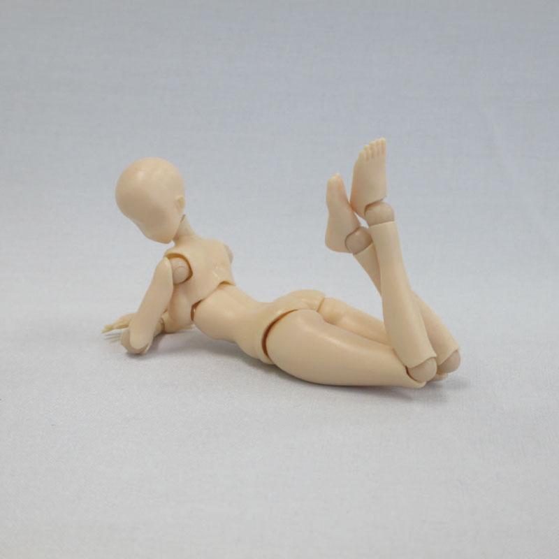 プレミアムパーツコレクション『関節技EX 1/12素材ちゃん フレッシュ』可動素材-003