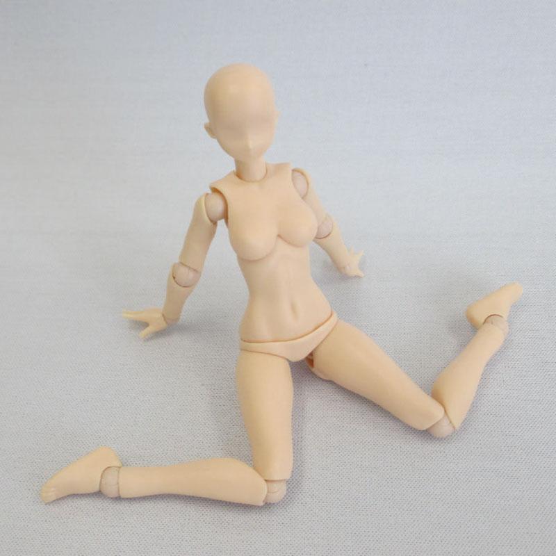 プレミアムパーツコレクション『関節技EX 1/12素材ちゃん フレッシュ』可動素材-007
