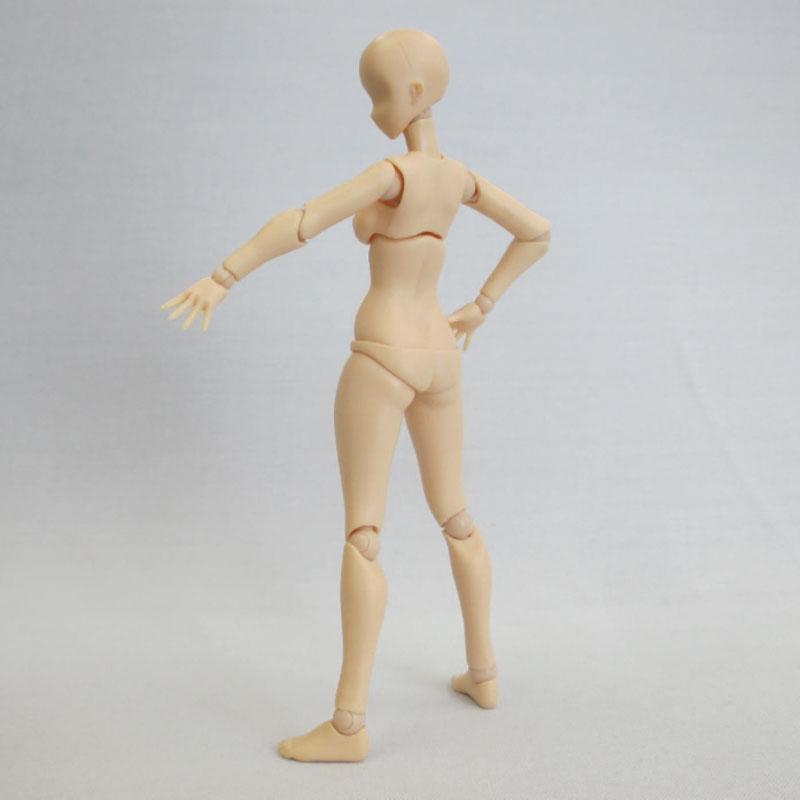 プレミアムパーツコレクション『関節技EX 1/12素材ちゃん フレッシュ』可動素材-008