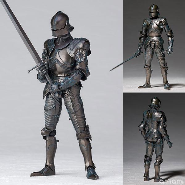 KT-020 タケヤ式自在置物『15世紀ゴチック式フィールドアーマー ブロンズ』可動フィギュア