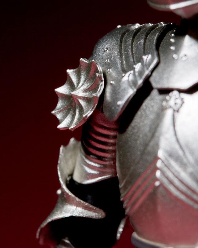 KT-021 タケヤ式自在置物『15世紀ゴチック式フィールドアーマー シルバー』可動フィギュア-018