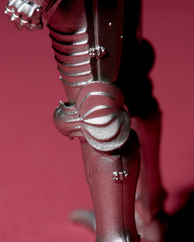 KT-021 タケヤ式自在置物『15世紀ゴチック式フィールドアーマー シルバー』可動フィギュア-024