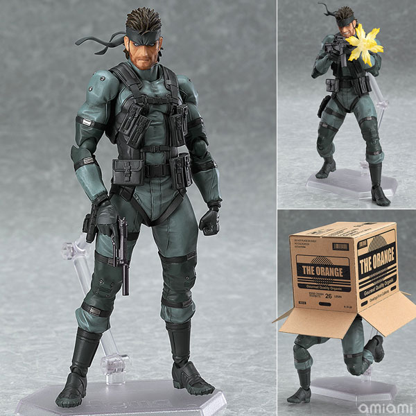 【再販】figma METAL GEAR SOLID2: SONS OF LIBERTY ソリッド・スネーク MGS2 ver.