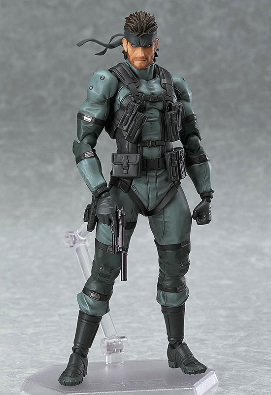 【再販】figma METAL GEAR SOLID2: SONS OF LIBERTY ソリッド・スネーク MGS2 ver.-001