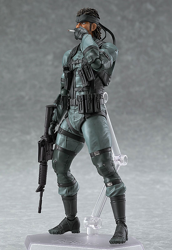 【再販】figma METAL GEAR SOLID2: SONS OF LIBERTY ソリッド・スネーク MGS2 ver.-002