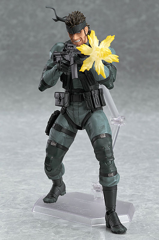 【再販】figma METAL GEAR SOLID2: SONS OF LIBERTY ソリッド・スネーク MGS2 ver.-003