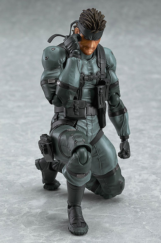 【再販】figma METAL GEAR SOLID2: SONS OF LIBERTY ソリッド・スネーク MGS2 ver.-004
