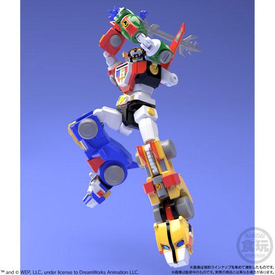 【食玩】スーパーミニプラ『百獣王ゴライオン』5個入りBOX-001