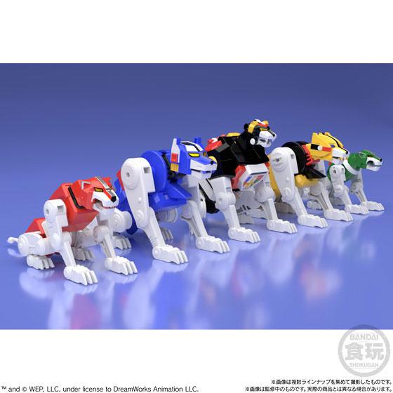 【食玩】スーパーミニプラ『百獣王ゴライオン』5個入りBOX-004