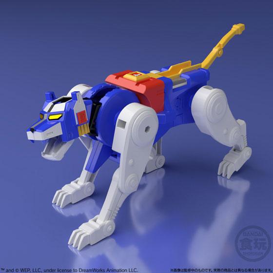 【食玩】スーパーミニプラ『百獣王ゴライオン』5個入りBOX-008