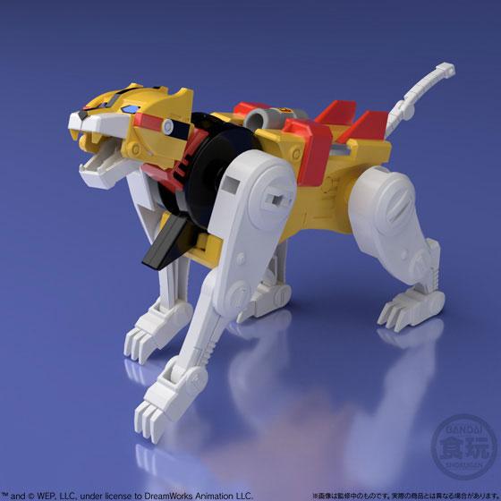 【食玩】スーパーミニプラ『百獣王ゴライオン』5個入りBOX-009