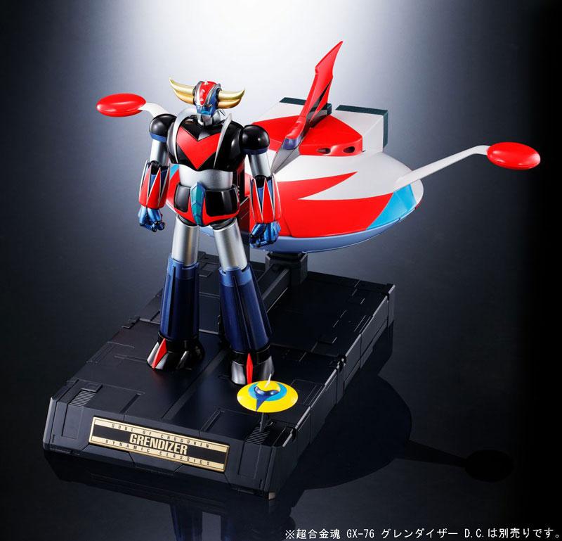 超合金魂『GX-76X グレンダイザー D.C.対応 スペイザー セット』-014