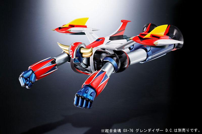 超合金魂『GX-76X グレンダイザー D.C.対応 スペイザー セット』-016