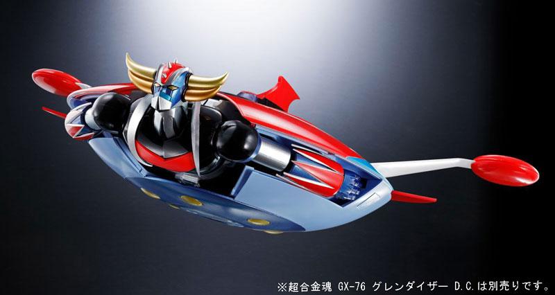 超合金魂『GX-76X グレンダイザー D.C.対応 スペイザー セット』-020