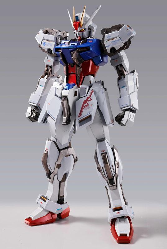 METAL BUILD『エールストライクガンダム  機動戦士ガンダムSEED』可動フィギュア-001