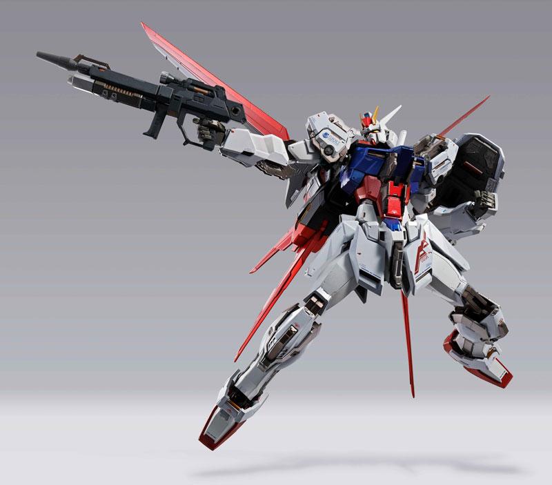 METAL BUILD『エールストライクガンダム  機動戦士ガンダムSEED』可動フィギュア-009