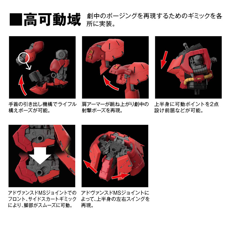 RG 1/144『サザビー』プラモデル-005