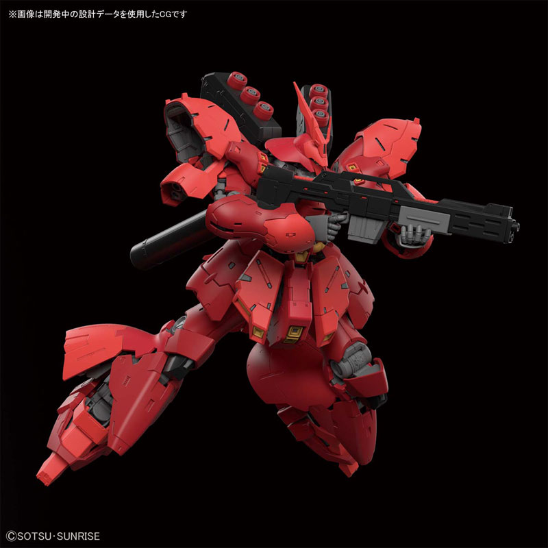 RG 1/144『サザビー』プラモデル-007