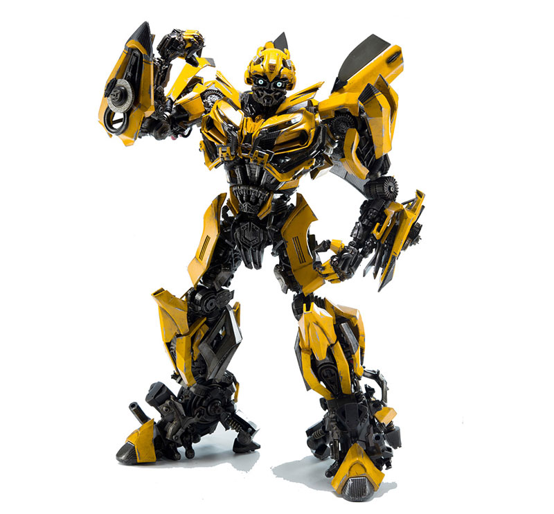 Transformers:The Last Knight BUMBLEBEE『トランスフォーマー/最後の騎士王|バンブルビー』可動フィギュア-002