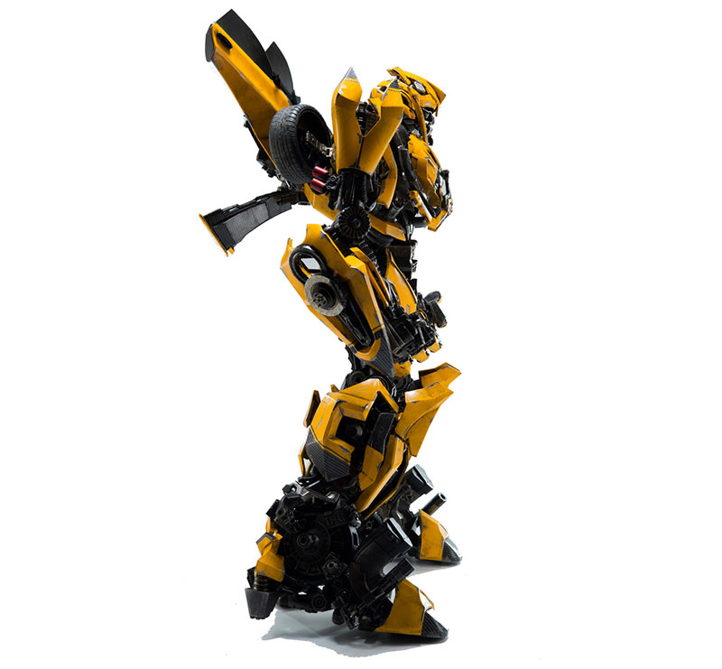 Transformers:The Last Knight BUMBLEBEE『トランスフォーマー/最後の騎士王|バンブルビー』可動フィギュア-004