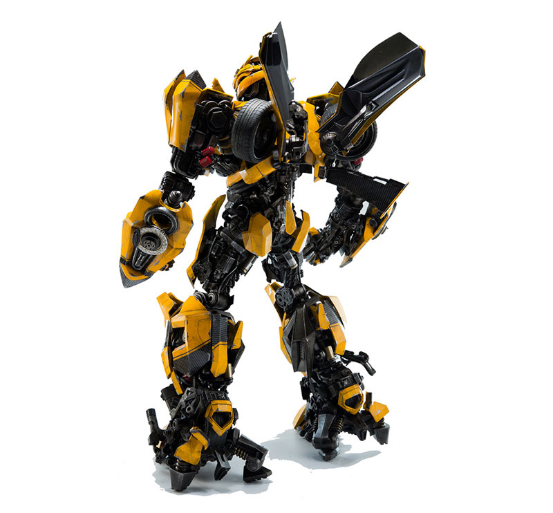 Transformers:The Last Knight BUMBLEBEE『トランスフォーマー/最後の騎士王|バンブルビー』可動フィギュア-006
