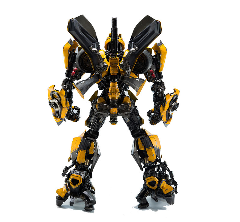 Transformers:The Last Knight BUMBLEBEE『トランスフォーマー/最後の騎士王|バンブルビー』可動フィギュア-008