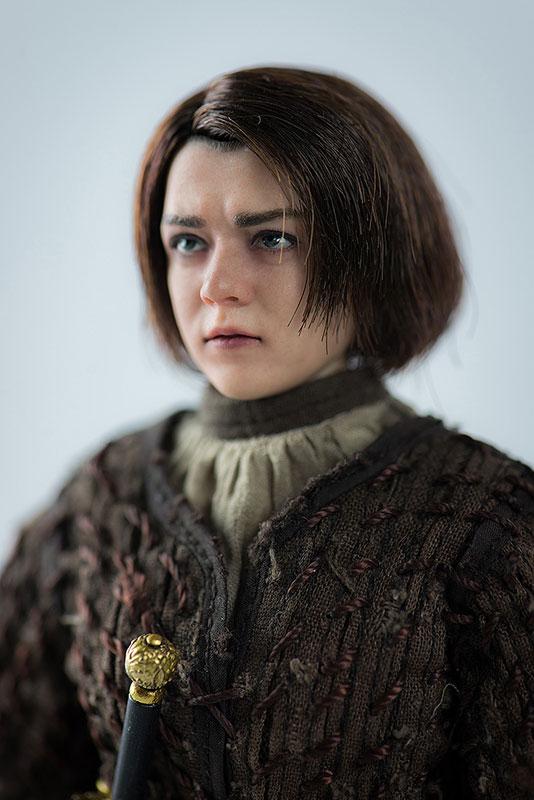 Game of Thrones ARYA STARK『ゲーム・オブ・スローンズ|アリア・スターク』1/6 可動フィギュア-002