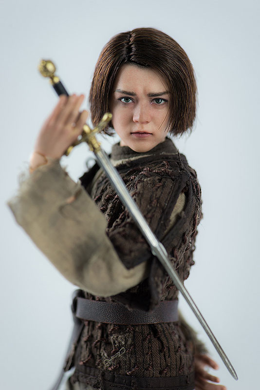 Game of Thrones ARYA STARK『ゲーム・オブ・スローンズ|アリア・スターク』1/6 可動フィギュア-006