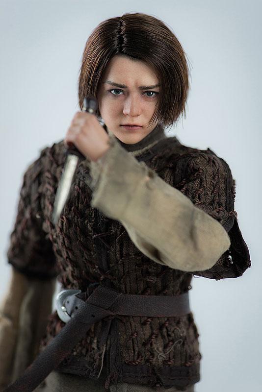 Game of Thrones ARYA STARK『ゲーム・オブ・スローンズ|アリア・スターク』1/6 可動フィギュア-007