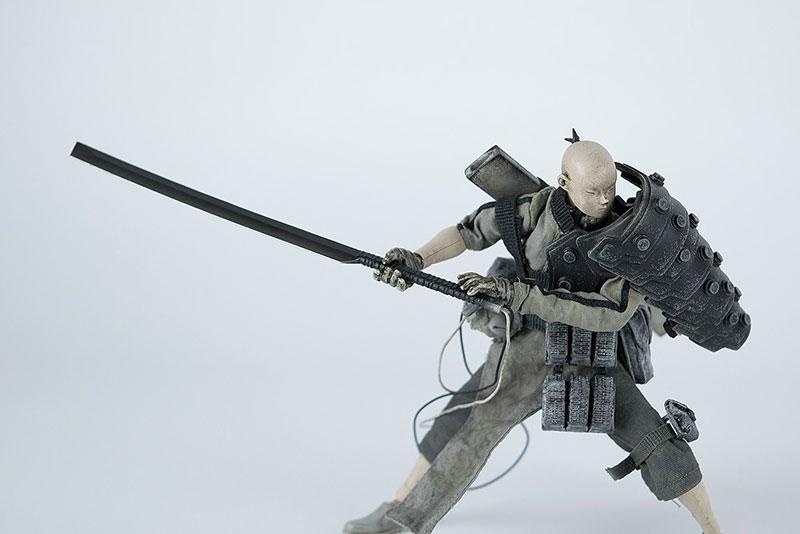 POPBOT(ポップボット)『AP SHOGUN TK TSUKI(AP ショーグンTK・ツキ)』1/12 可動フィギュア-002