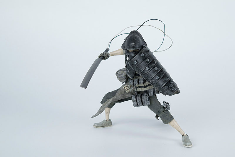 POPBOT(ポップボット)『AP SHOGUN TK TSUKI(AP ショーグンTK・ツキ)』1/12 可動フィギュア-003