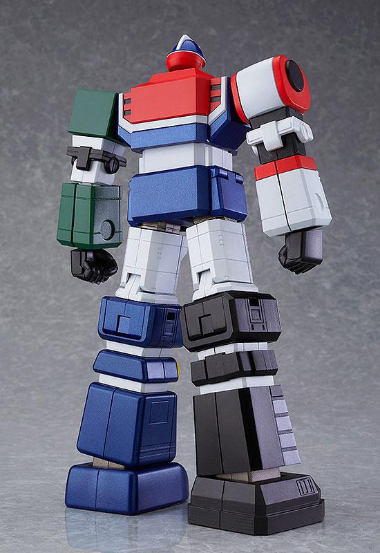 MODEROID 六神合体ゴッドマーズ プラモデル-002