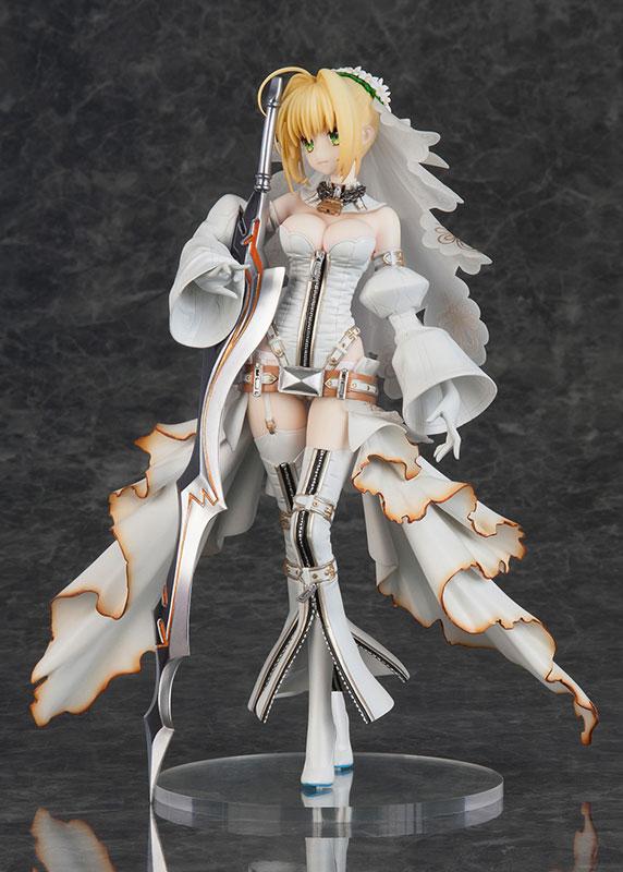 Fate/Grand Order セイバー/ネロ・クラウディウス(ブライド) 完成品フィギュア-002