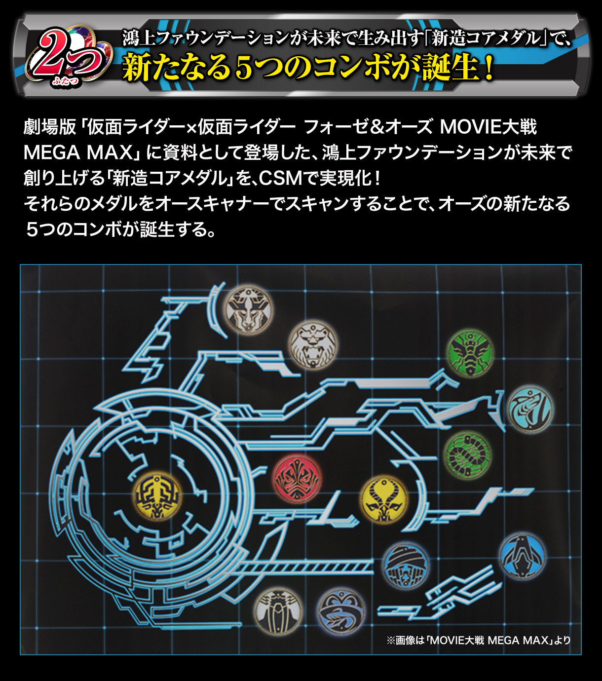 COMPLETE SELECTION MODIFICATION OOO DRIVER COMPLETE SET(CSMオーズドライバーコンプリートセット)-005