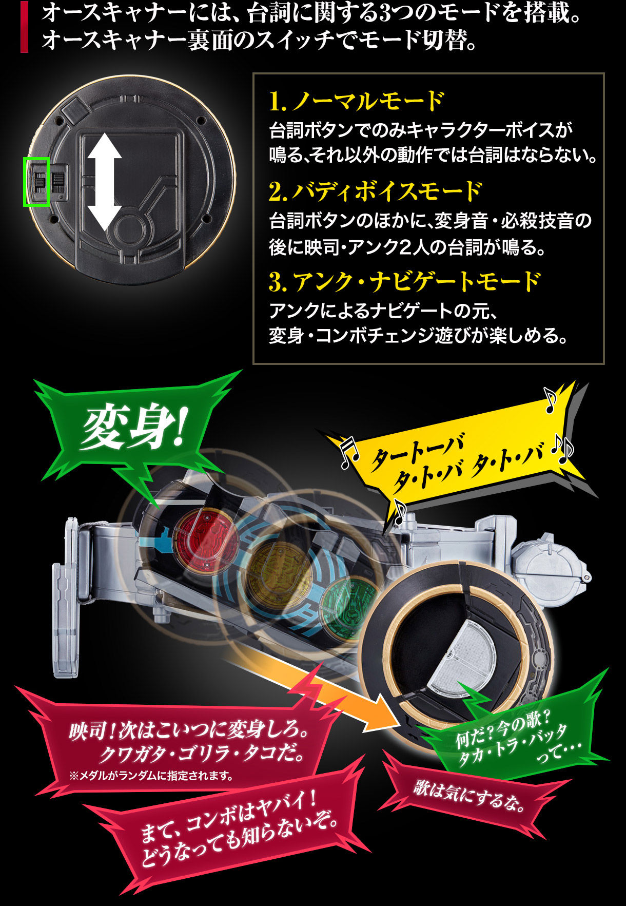 COMPLETE SELECTION MODIFICATION OOO DRIVER COMPLETE SET(CSMオーズドライバーコンプリートセット)-007