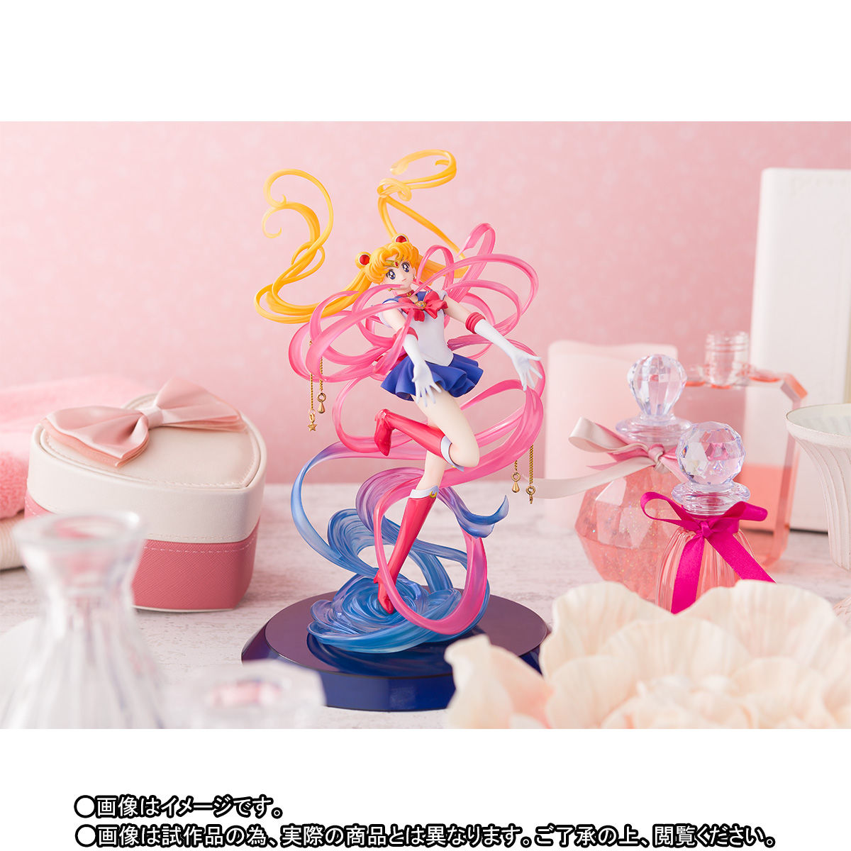 Figuarts Zero chouette『セーラームーン -Moon Crystal Power, Make Up-』完成品フィギュア-005