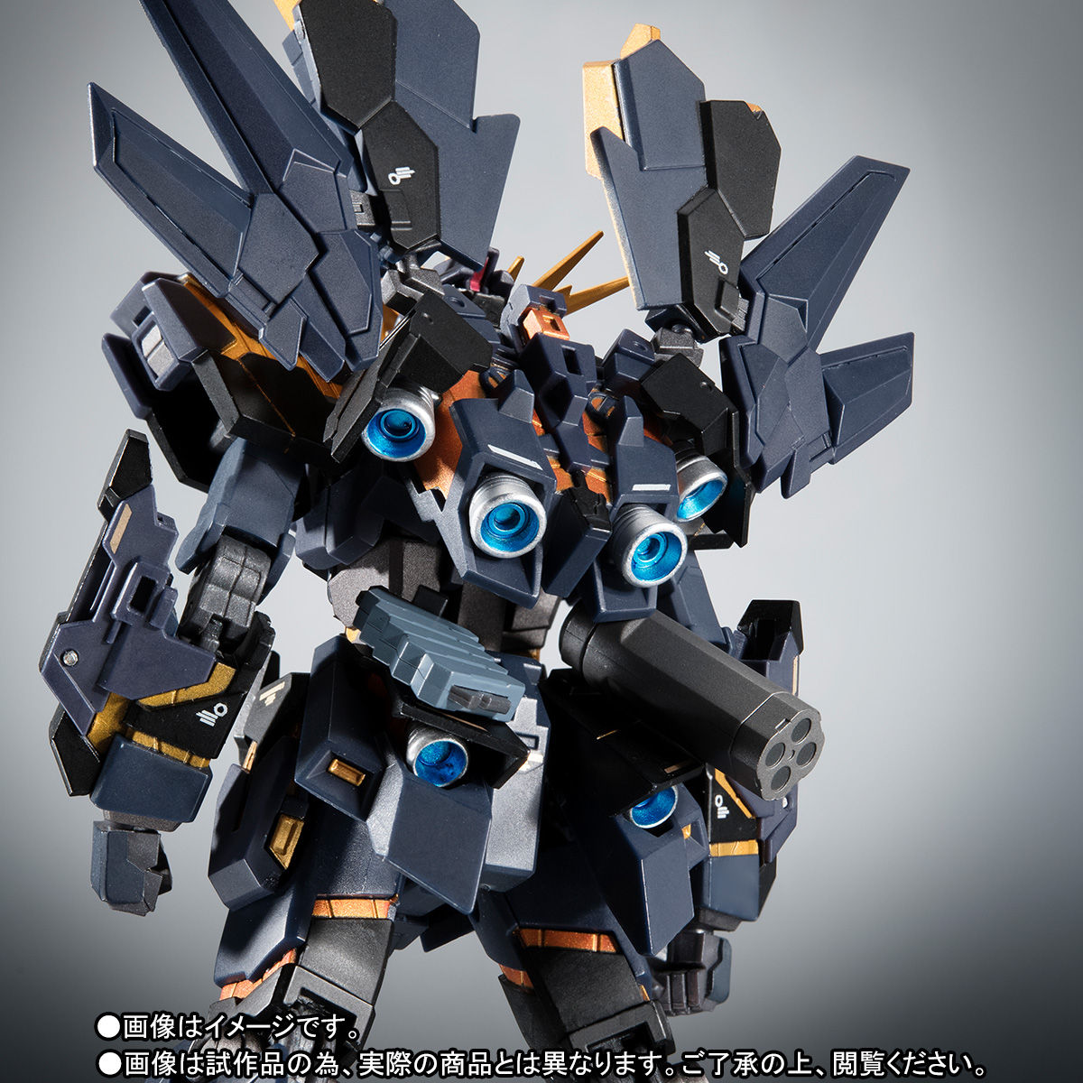 ROBOT魂〈SIDE MS〉『バンシィ・ノルン SPパック リアルマーキングVer.』可動フィギュア-006