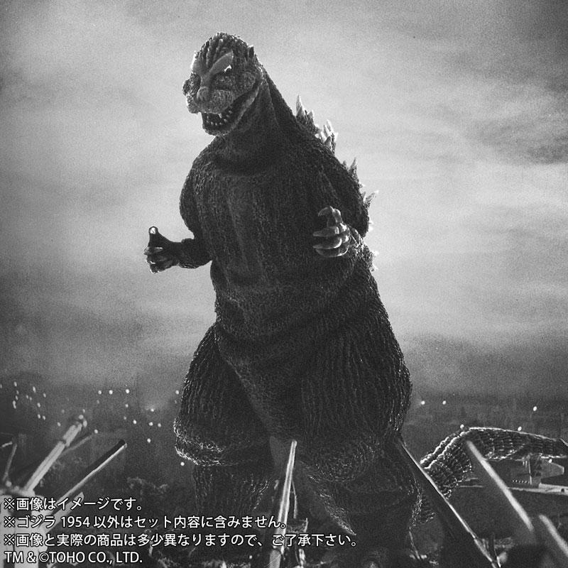 東宝大怪獣シリーズ『ゴジラ(1954)』完成品フィギュア-007