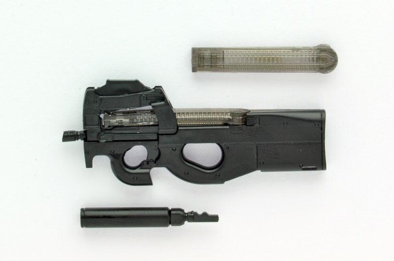 【再販】リトルアーモリー LA039『P90タイプ』1/12 プラモデル-001