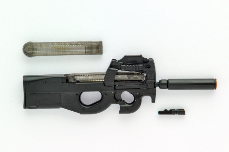 【再販】リトルアーモリー LA039『P90タイプ』1/12 プラモデル-002