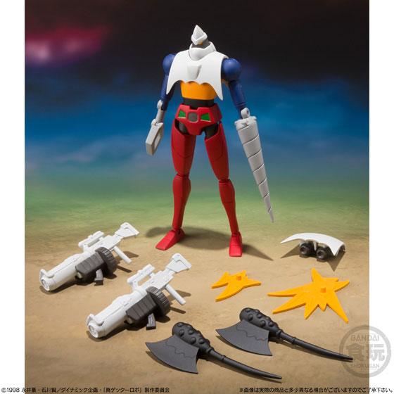 【食玩】スーパーミニプラ『真(チェンジ!!)ゲッターロボ Vol.1』3個入りBOX-006