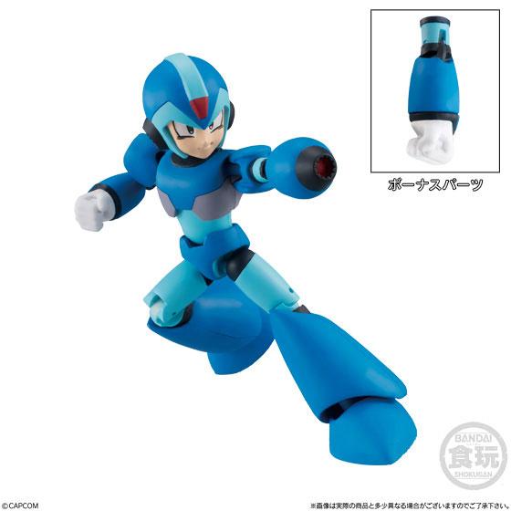 【食玩】66アクションダッシュ『ロックマン2』可動フィギュア 10個入りBOX-001