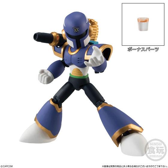 【食玩】66アクションダッシュ『ロックマン2』可動フィギュア 10個入りBOX-002