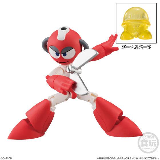 【食玩】66アクションダッシュ『ロックマン2』可動フィギュア 10個入りBOX-004
