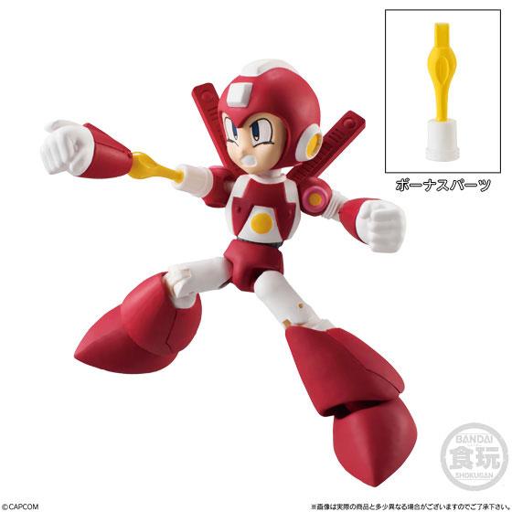 【食玩】66アクションダッシュ『ロックマン2』可動フィギュア 10個入りBOX-005