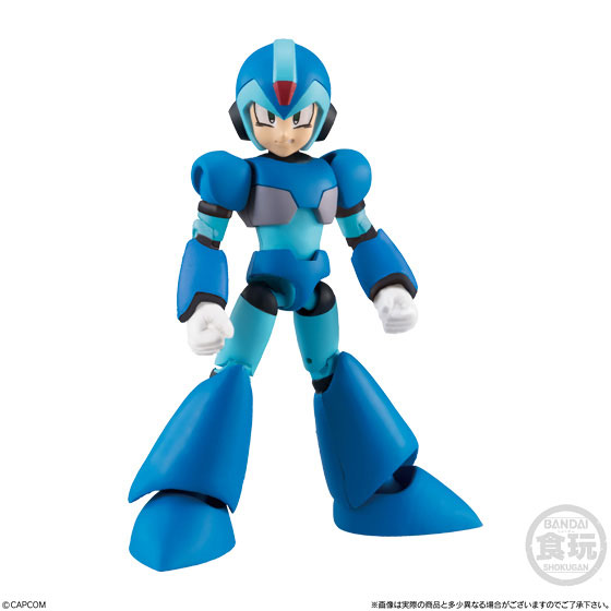 【食玩】66アクションダッシュ『ロックマン2』可動フィギュア 10個入りBOX-006