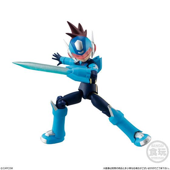 【食玩】66アクションダッシュ『ロックマン2』可動フィギュア 10個入りBOX-008