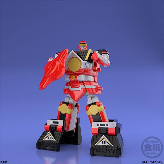 【食玩】スーパーミニプラ『忍者合体 無敵将軍』5個入りBOX-001
