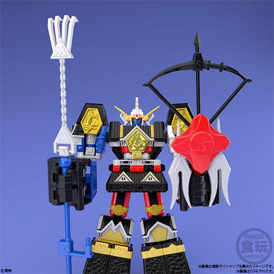 【食玩】スーパーミニプラ『忍者合体 無敵将軍』5個入りBOX-006
