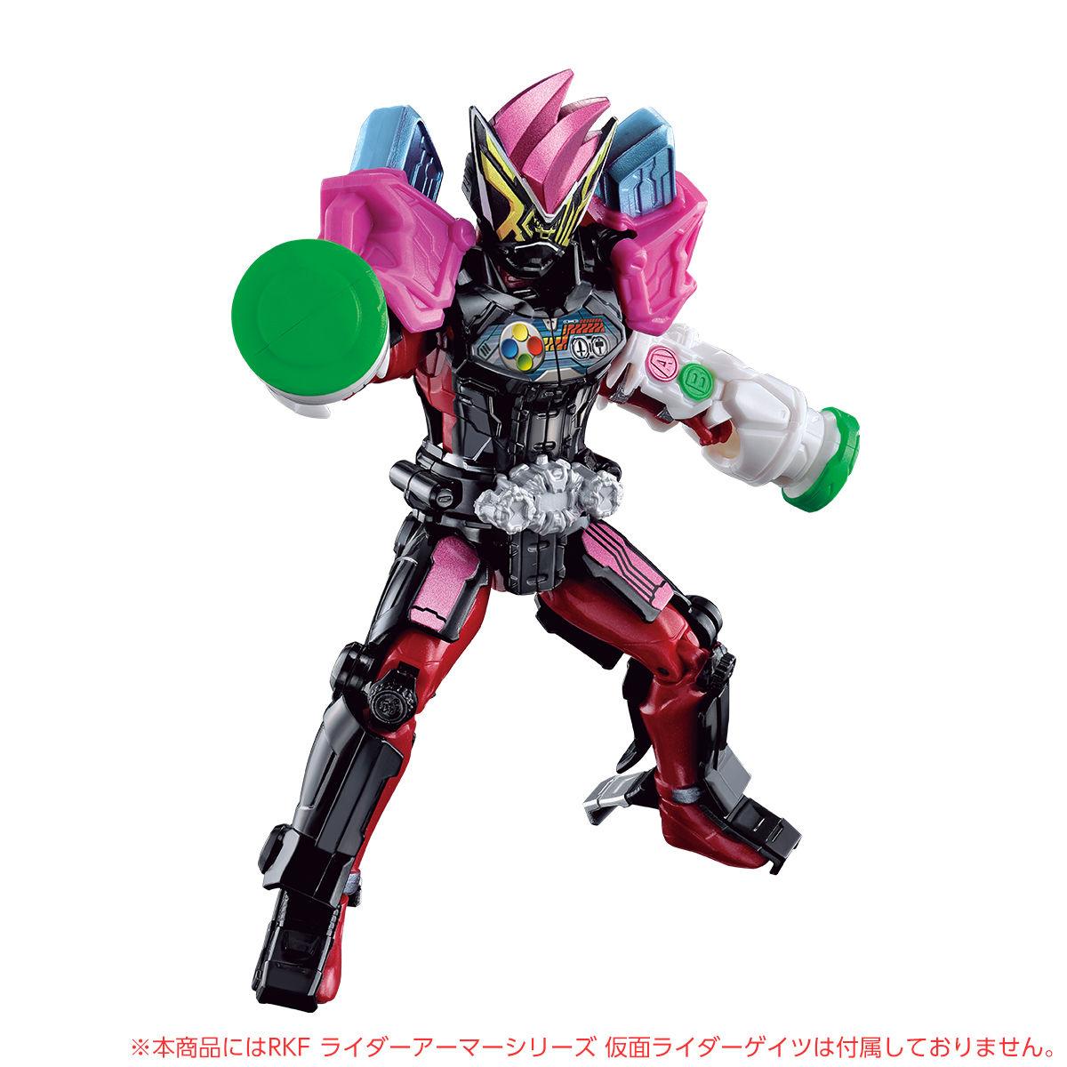 RKFライダーアーマーシリーズ『エグゼイドアーマー』可動フィギュア-008